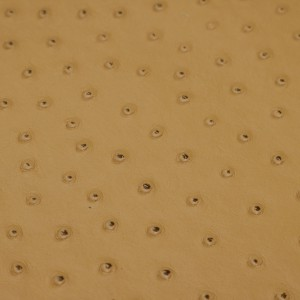Ostrich Camel | Exotic Automotive Upholstery Leather