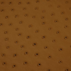Ostrich Gold | Exotic Automotive Upholstery Leather