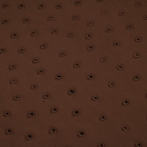 Ostrich Nuez | Exotic Automotive Upholstery Leather