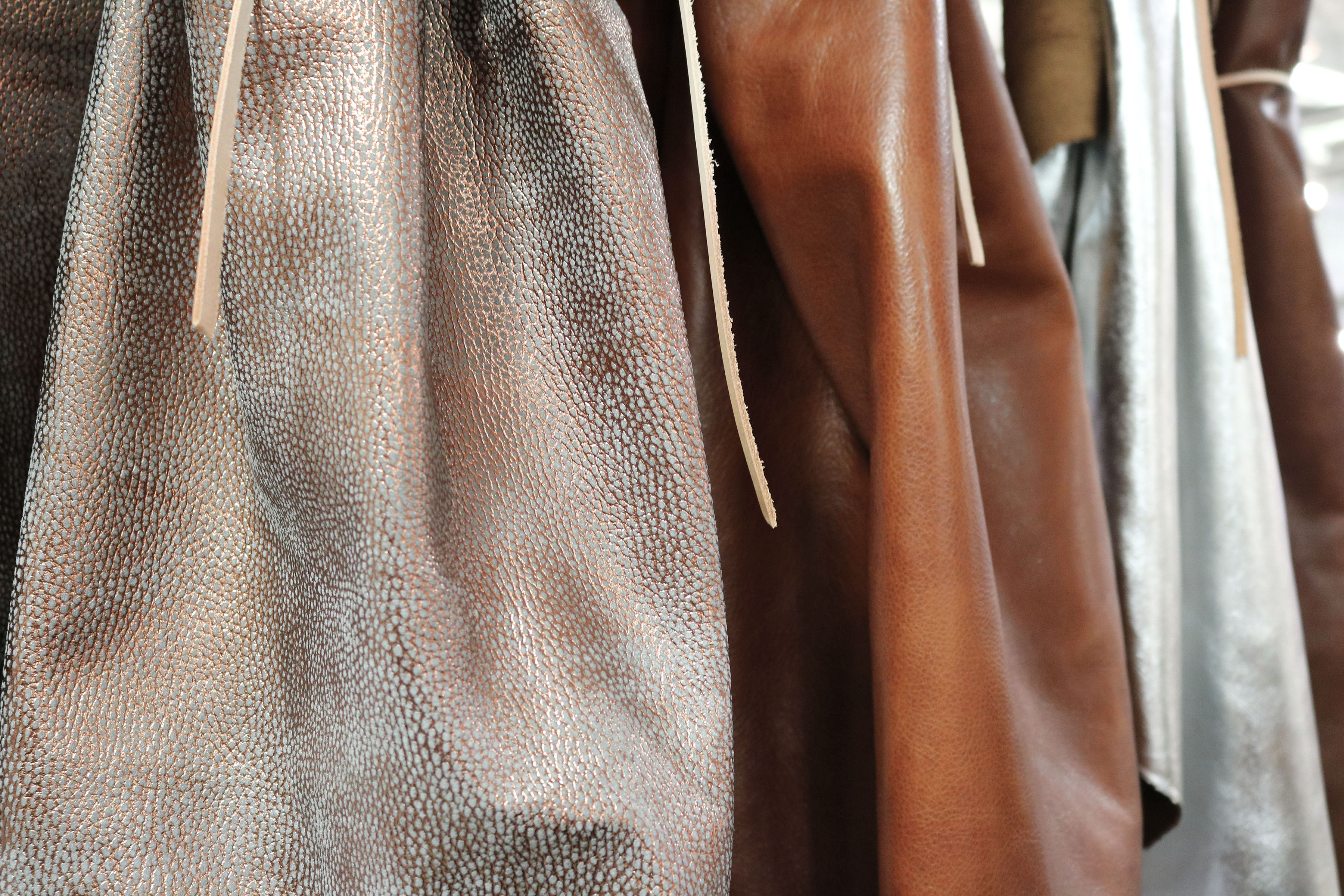 Metallic Leather Hides